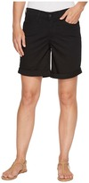 NYDJ Jessica Boyfriend Shorts in Black Women's Shorts