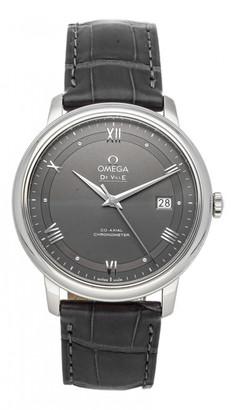 Omega De Ville Grey Steel Watches