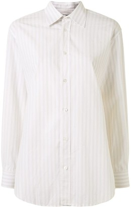 Hermes Pre-Owned Vertical-Striped Shirt