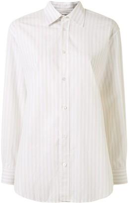 Hermes Vertical-Striped Shirt