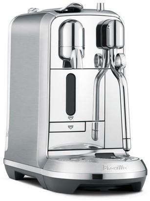 Breville Nespresso Creatista Plus Espresso Coffee Machine Smoked Hickory