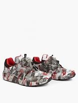 Puma x Trapstar Disc Blaze Camouflage Sneakers