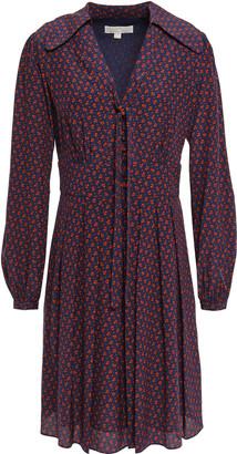 MICHAEL Michael Kors Silk Crepe De Chine Shirt Dress