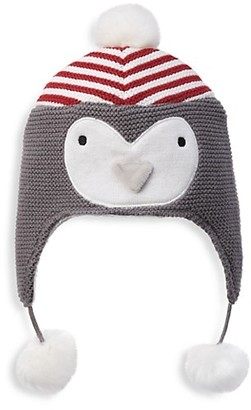 Elegant Baby Xmas Penguin Cotton Knit Hat