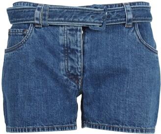 Prada Belted Shorts