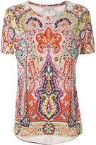Etro patterned top - women - Cotton - 42