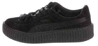 low priced 809ea f62f1 Velvet Platform Creepers