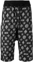 Kokon To Zai monogram harem shorts - unisex - Cotton - S