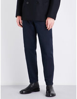 Dries Van Noten Philip Tapered Regular-fit Cotton-twill Trousers
