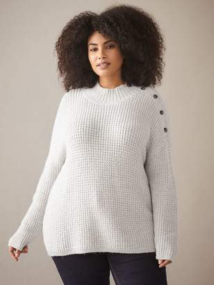 story. Marled Mock-Neck Sweater - In Every