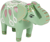 Monsoon Elephant Money Box