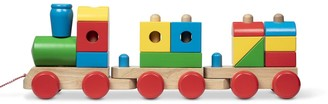 Melissa & Doug Wooden Jumbo Stacking Train