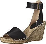 Soludos Women's Open Toe Leather Espadrille Wedge Sandal