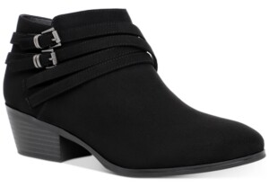 Style&Co. Style & Co Willoww Booties, Created for Macy's Women's Shoes