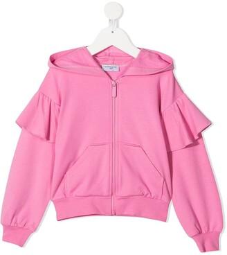 MonnaLisa Alice zip-up hoodie