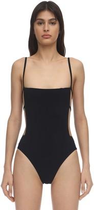 Anémone Cage Lycra One Piece Swimsuit