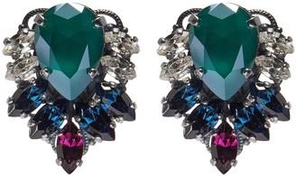Anton Heunis Swarovski crystal cluster earrings