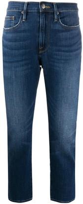 Frame Le Pixie mid-rise slim jeans