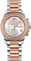 Thomas Sabo Glam and Soul two-tone zirconia chronograph watch