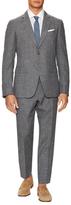 John Varvatos Austin Fit Linen Suit