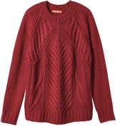 Joe Fresh Women's Cable Knit Sweater, Light Blue (Size S)