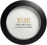 Milani Prep + Set + Go Transparent Setting Face Powder, Transparent, 0.24 Ounce