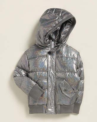 Appaman (Newborn/Infant Girls) Hologram Puffer Down Coat