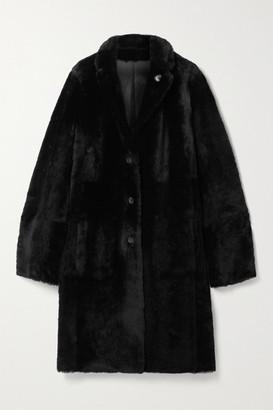Joseph Britanny Reversible Shearling Coat - Black