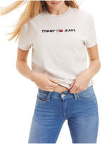 Tommy Jeans Logo Cropped Fit T-Shirt