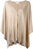 Brunello Cucinelli flared cardigan - women - Silk/Cashmere - S