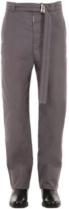 Rochas COTTON PANTS W/ BELT