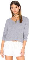 Monrow Macrame Sweatshirt
