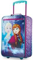 """American Tourister Disney Frozen 18"""" Softside Rolling Suitcase By"""