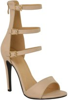 Fashion Thirsty Womens High Heel Strappy Sandals Open Toe Party Prom Shoes Size 7