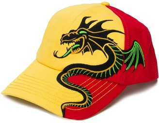 Perks And Mini Embroidered Dragon Baseball Cap