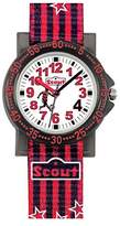 Scout Boys 'Watch Analogue Quartz Fabric 280375006