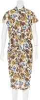 Thakoon Silk Abstract Print Dress