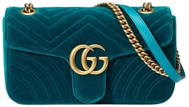 50b5653763f4 Gucci Blue Flap Closure Handbags - ShopStyle