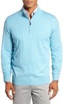Peter Millar Men's Crown Quarter Zip Sweater