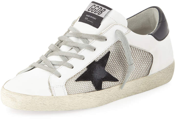 Golden Goose Superstar Mixed Platform Sneakers