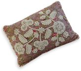 Always Home Victorian Crochet Applique Decorative Pillow