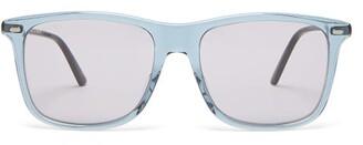 Gucci Square Acetate Sunglasses - Mens - Grey