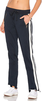 Pam & Gela Side Stripe Trackpant in Navy. - size XS (also in )