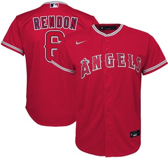 Nike Youth Anthony Rendon Red Los Angeles Angels Alternate 2020 Replica Player Jersey