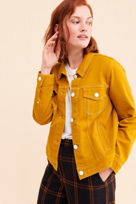 ModCloth Covered With Color Denim Jacket