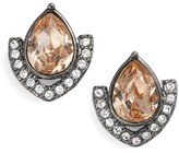 Jenny Packham Women's Crystal Stud Earrings