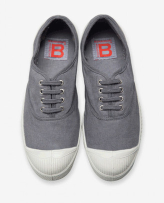 Bensimon Elly Grey Plimsolls - EU38 UK5