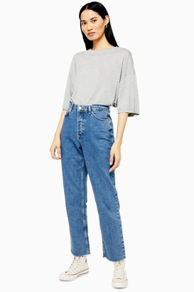 Topshop Mid Stone Slim Jeans by Boutique
