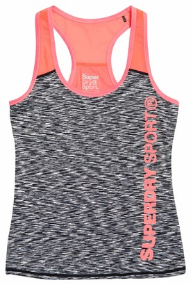 Superdry Women's CORE Fitted MESH Panel Vest