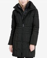 Calvin Klein Layered Down Puffer Coat